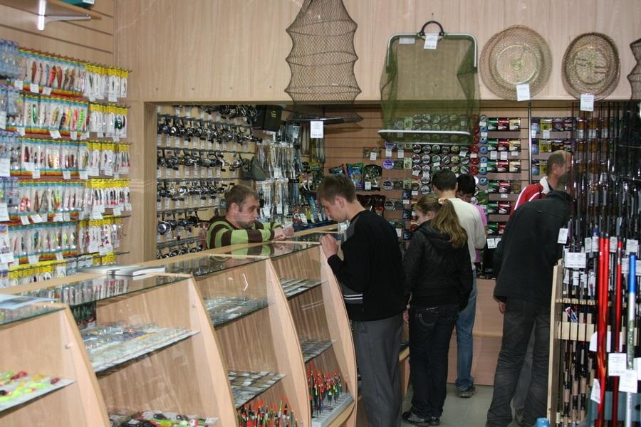 Программа для магазина рыболовных товаров