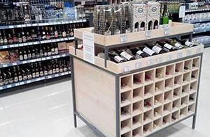 ДЭНСИ:КАССА в винном супермаркете