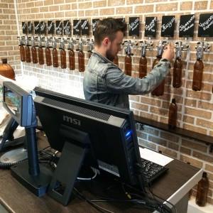 Работа магазина пива