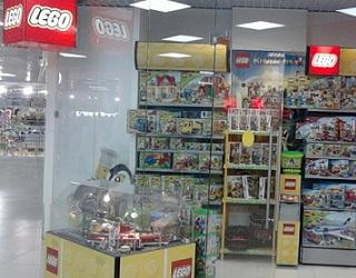 ДЭНСИ:КАССА в магазинах Lego