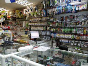 дэнси-касса в магазине охота и рыбалка